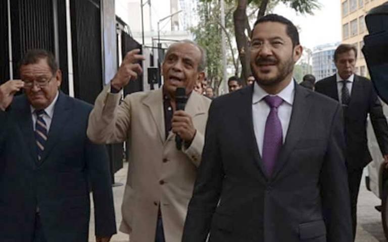 No me consta que titular de Segob haya presionado al PAN por Ley Bonilla: Martí Batres