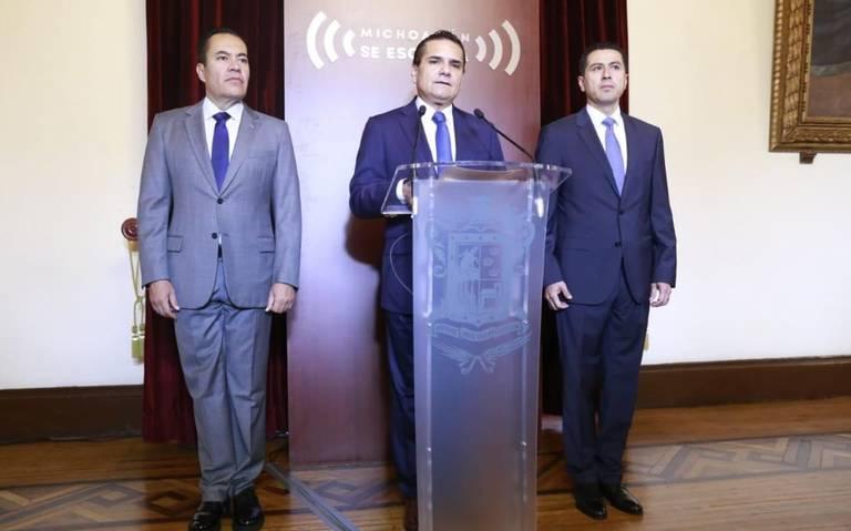 Israel Patrón, nuevo titular de la SSP Michoacán