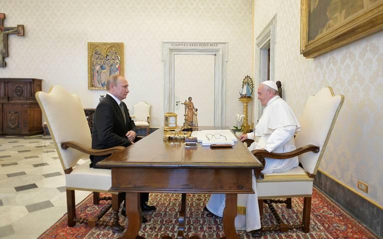 El Papa y Putin hablaron sobre la situación en Venezuela, Siria y Ucrania
