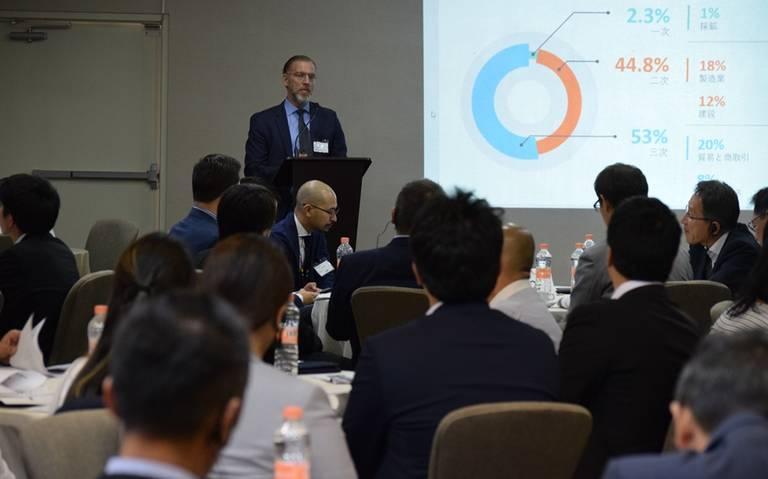 Alta inversión japonesa en primer trimestre