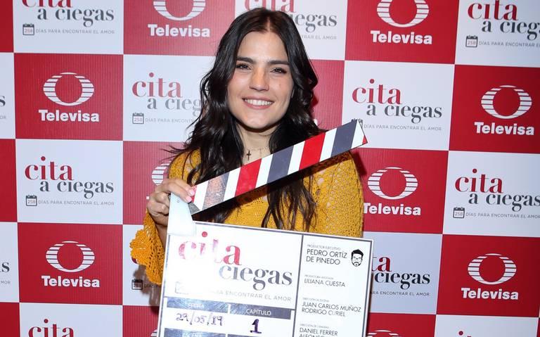 Sofía Garza, la nueva estrella de Televisa en Cita a ciegas