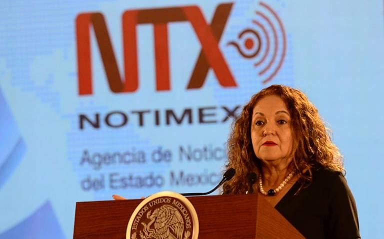 En Notimex había chayote y huachicoleo de información: Sanjuana Martínez