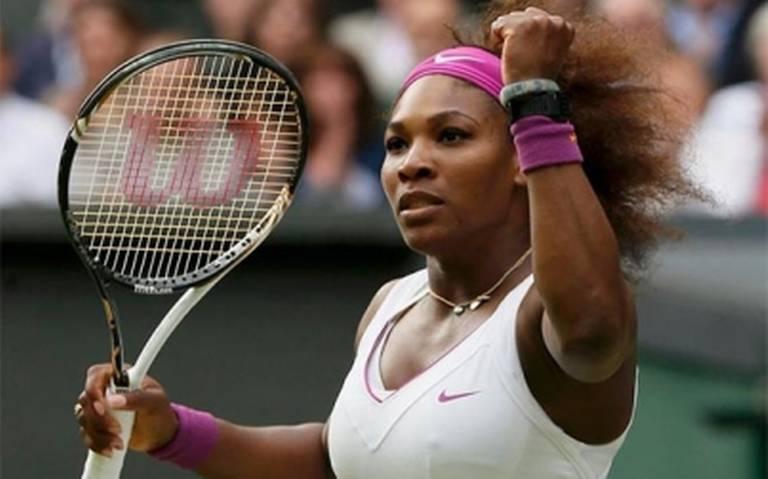 Serena Williams en la final de Wimbledon