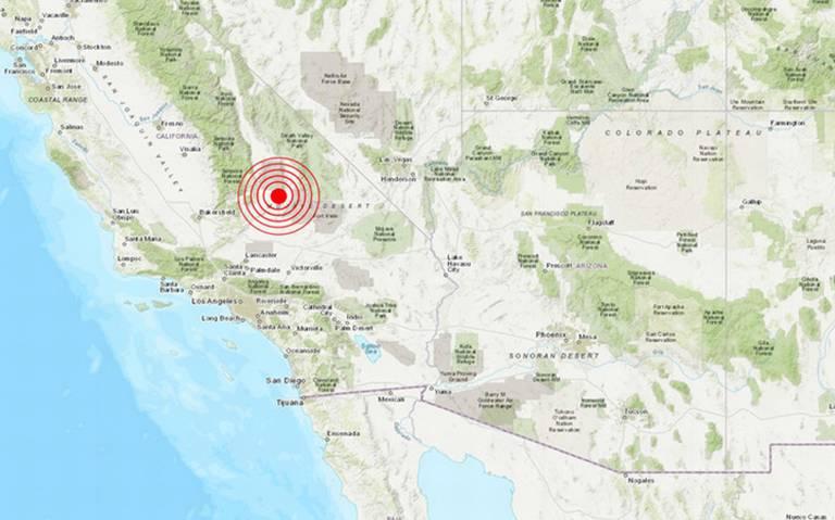Fuerte sismo de magnitud 6.4 sacude California