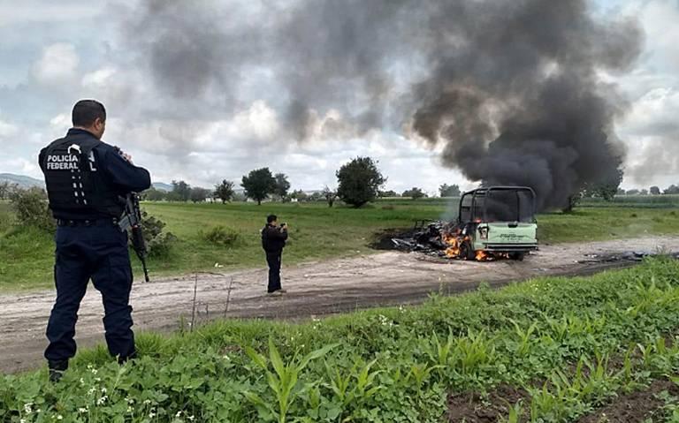 Huachicoleros agreden a personal de seguridad de Pemex en Tepeaca, Puebla