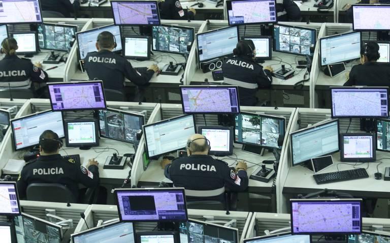 Cámaras captan 65% de los delitos en la CDMX