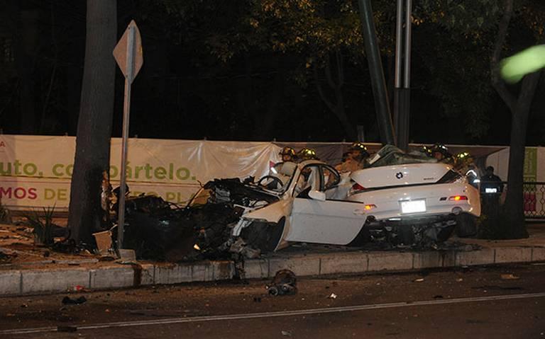 Dan libertad condicional a conductor de BMW que provocó muertes en Reforma