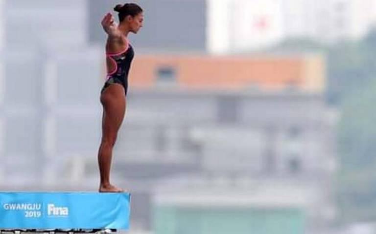 ¡Plata para México! Adriana Jiménez conquista segundo lugar en clavados de altura