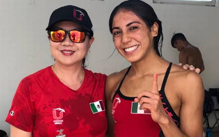 Alejandra Estrella gana primer oro para México en Universiada Mundial
