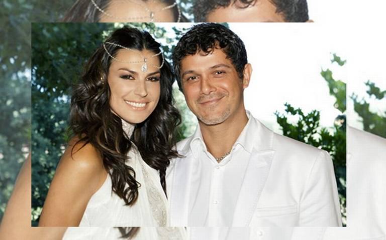 Se separa Alejandro Sanz de su esposa Raquel Perera
