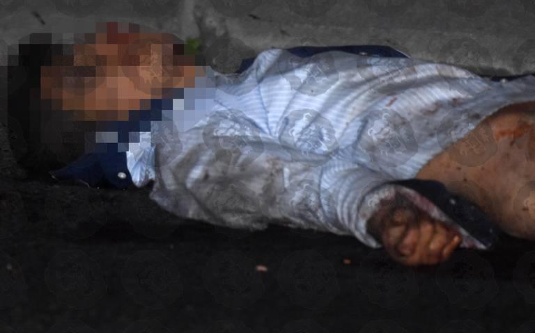 Muere joven arrollado en carriles centrales de Periférico Sur