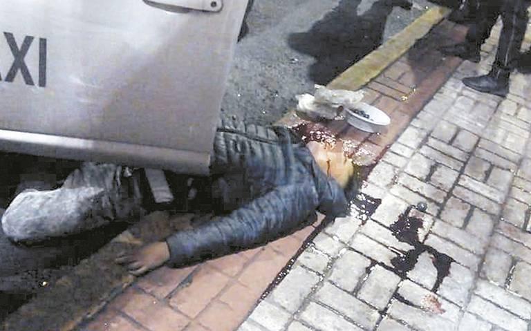 Le meten tiros calibre 40 a taxista en la Guerrero