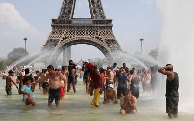 París alcanza los 42.6 grados y bate su récord histórico de calor