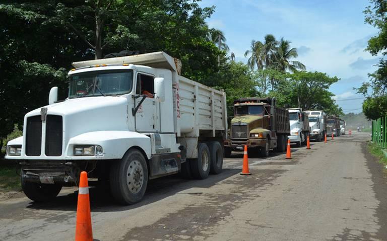 A marchas forzadas, obras en Dos Bocas