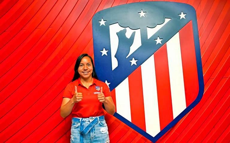 ¡Charlyn Corral llega al Atlético de Madrid Femenino!