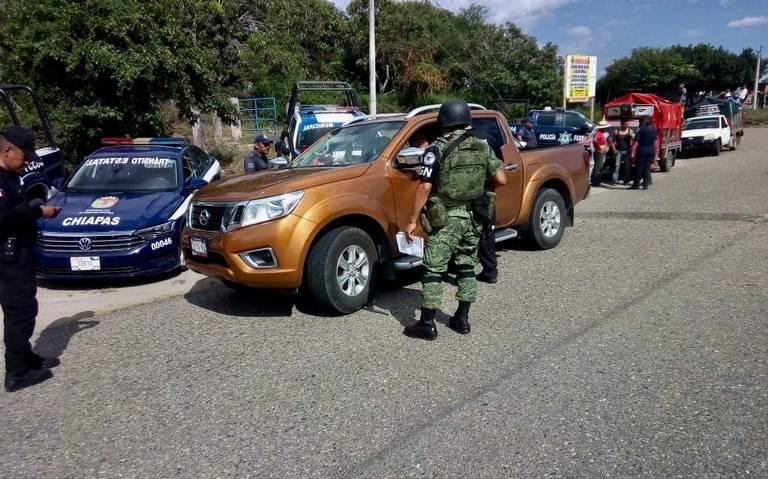 Buscan a 5 policías retenidos por FNLS; abre Fiscalía carpeta de investigación