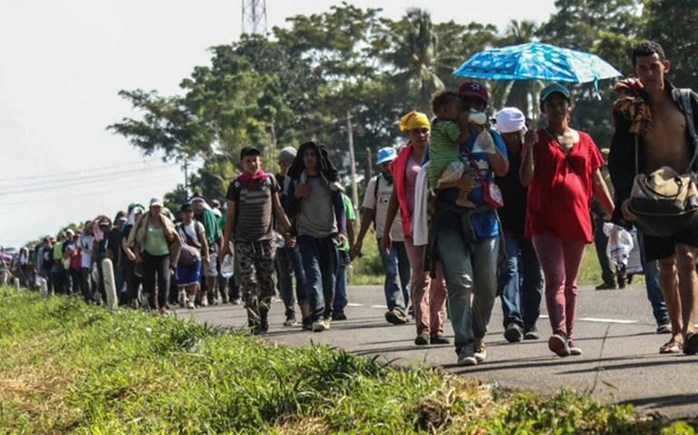 Disminuye la ola migratoria en la frontera sur: Diputada
