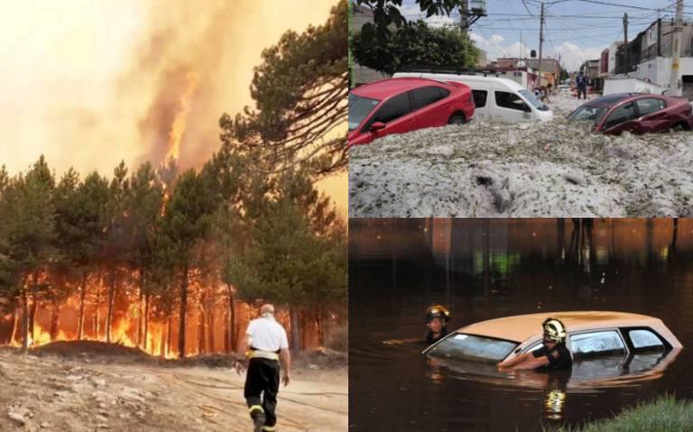 Cataclísmicos, los efectos climáticos