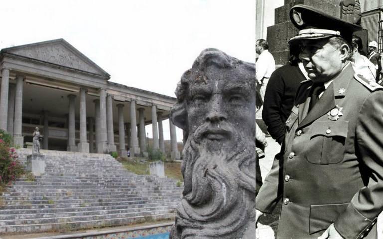 Exige hijo de El Negro Durazo le regresen el Partenón de Zihuatanejo