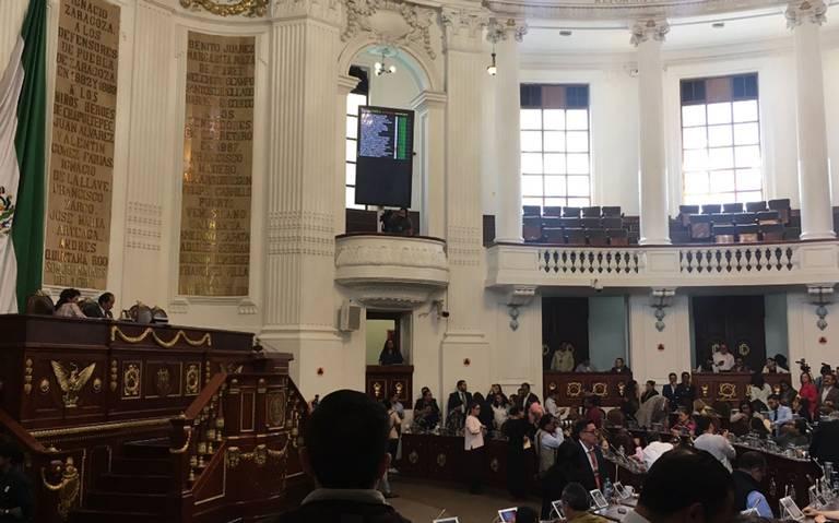 Congreso de CDMX aprueba en lo general dictamen de Ley de Seguridad Ciudadana