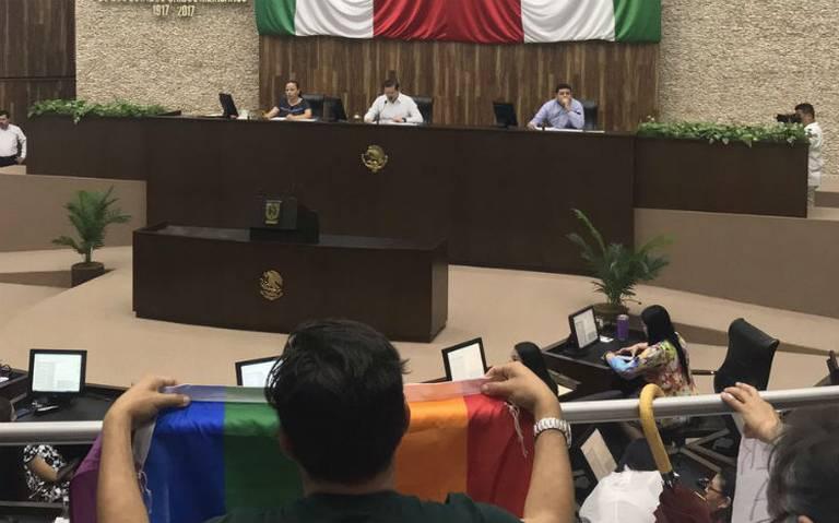 Rechazan matrimonio igualitario en Yucatán por segunda vez