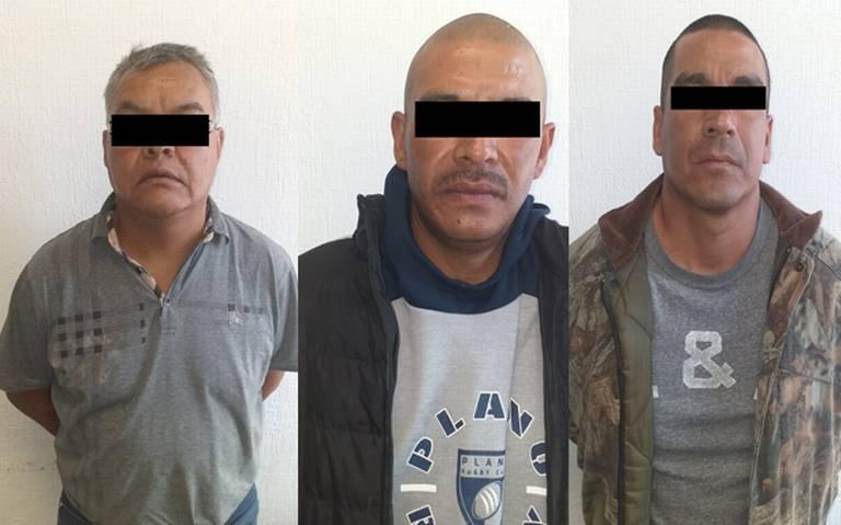 Apañan a banda dedicada al robo de transporte en Ecatepec