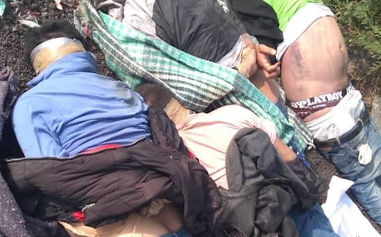 La maña deja cuatro ejecutados en Chalco, estado de México