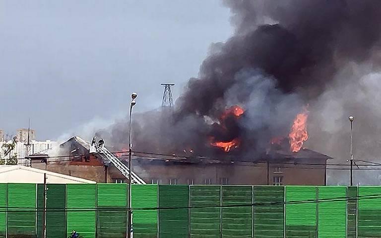Reportan siete heridos por incendio en planta termoeléctrica en Moscú