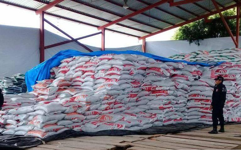 Saquean otra vez bodega de fertilizante en Guerrero
