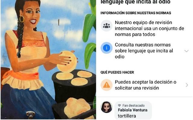 """Usuarios denuncian que Facebook prohíbe la palabra """"tortillera"""""""