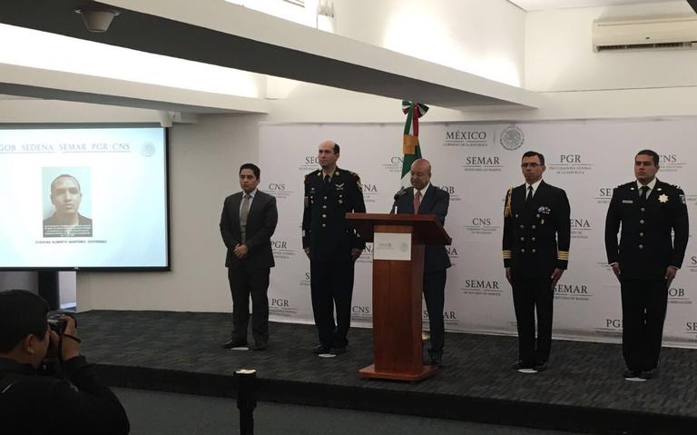 Sale Gualberto Ramírez de la unidad de investigación de delitos de secuestro de la SEIDO
