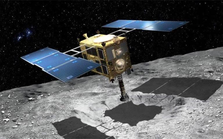 Sonda espacial japonesa se dispone a recoger rocas del asteroide Ryugu