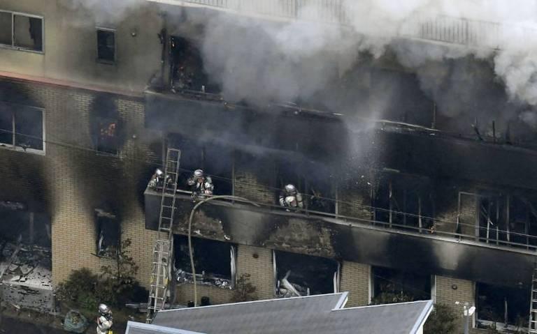 Se eleva a 33 la cifra de muertos por incendio en estudio de Kyoto Animation