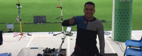 José Luis Sánchez logra bronce en tiro con rifle