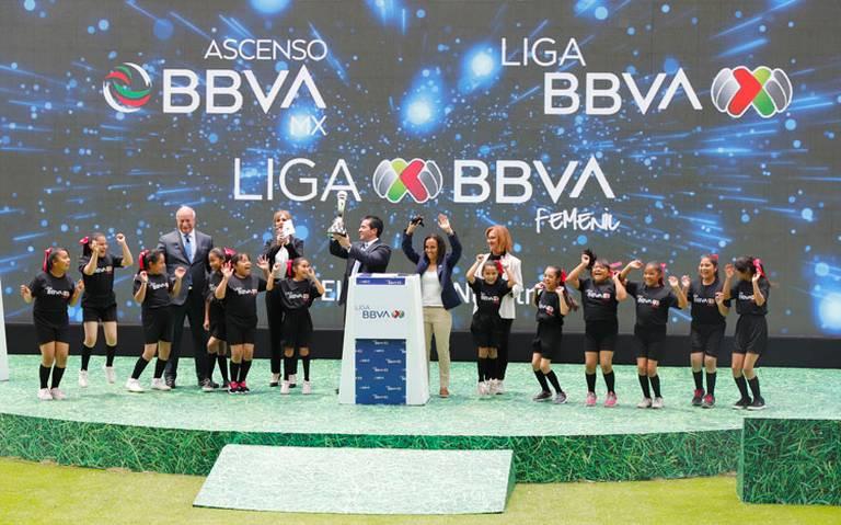 BBVA patrocinador de la liga mx femenil