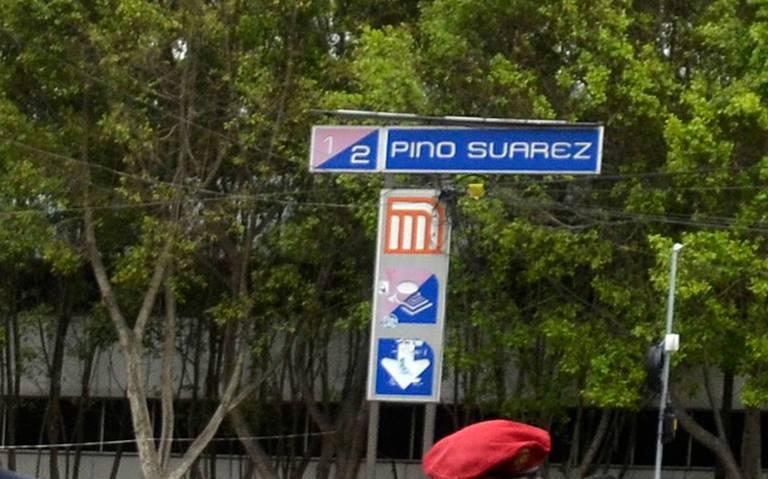 Arrestan a cuatro presuntos cómplices de El Chocorrol en Metro Pino Suárez