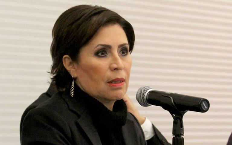 """""""Me enteré por los medios"""", Rosario Robles no ha sido notificada sobre acusaciones"""