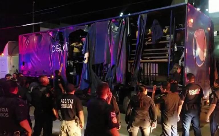 PepsiCo niega propiedad de camión que trasportaba migrantes en Chiapas