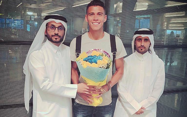 Héctor Moreno ya está en Qatar para firmar con el Al Gharafa