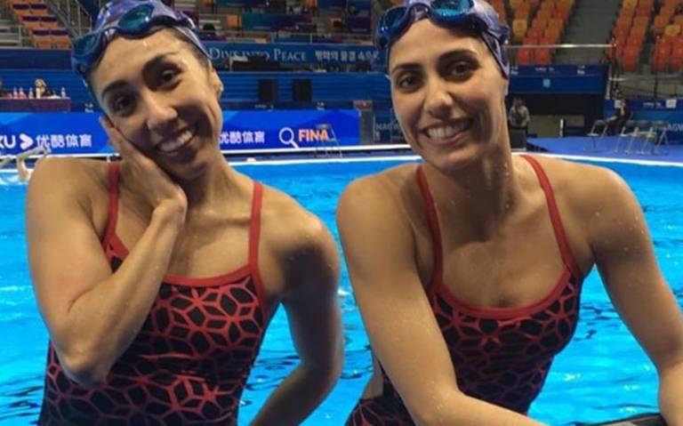 Diosdado y Jiménez, finalistas en Campeonatos Mundiales de Natación