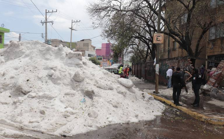 En 48 horas máximo se tendría declaratoria de desastre en zona afectada por granizo