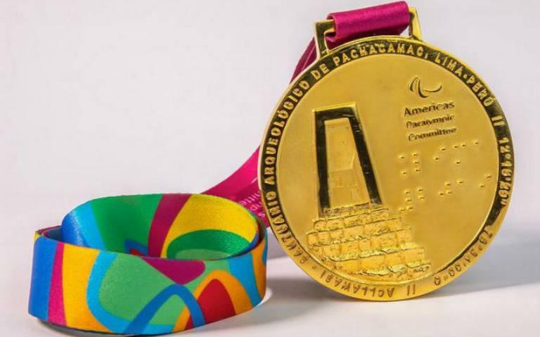 Así son las medallas que darán a atletas en los Juegos Panamericanos