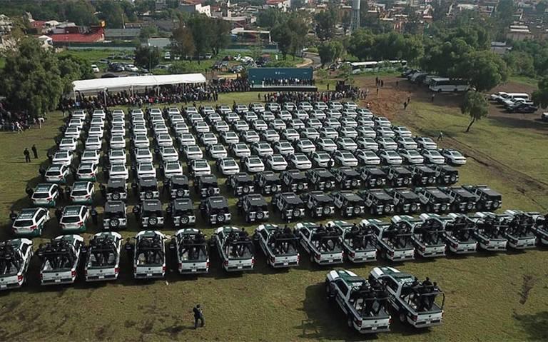 Llegan 229 patrullas nuevas a Iztapalapa para mejorar la seguridad