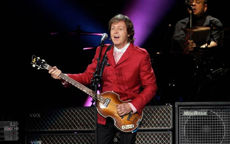 """Paul McCartney trabaja en su primer musical: """"¡Qué bello es vivir!"""""""