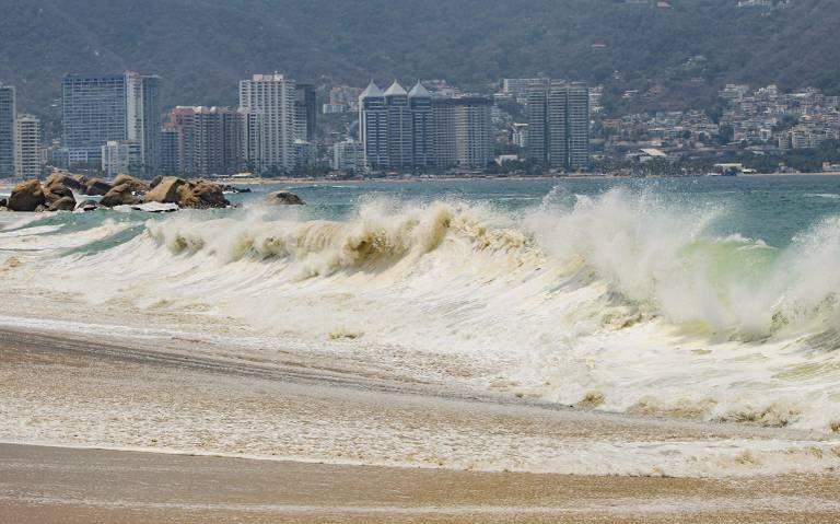 Pronostican mar de fondo en costa del Pacífico