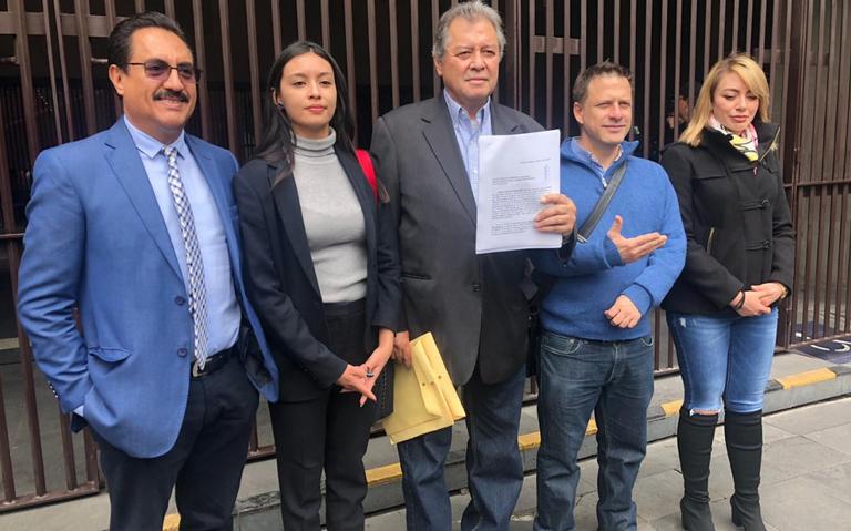 PRD denuncia a Bonilla ante la SRE