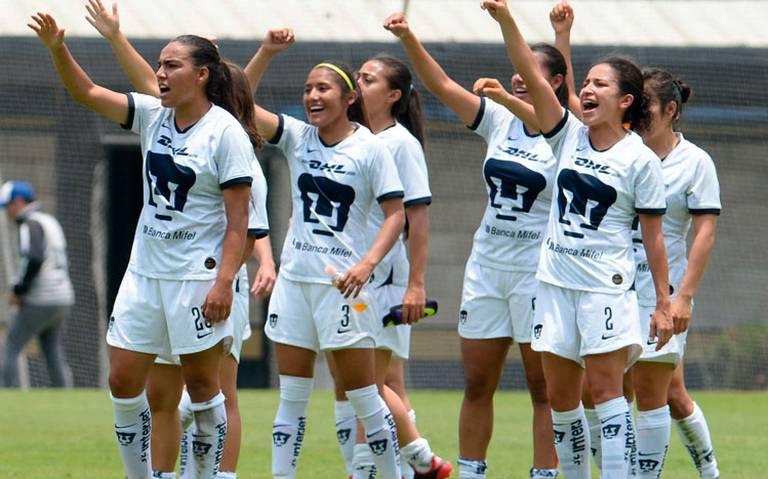 Pumas y Cruz Azul se enfrentan en la Liga femenil