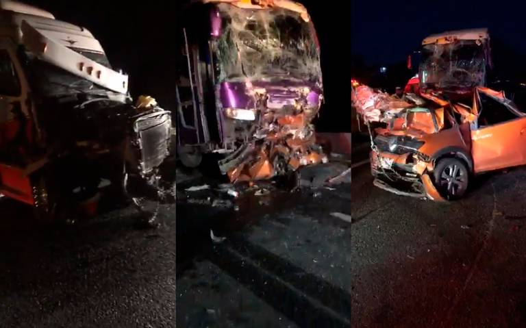 Mortal accidente en carretera 57