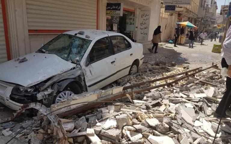 Sismo de magnitud 5.7 en Irán deja un muerto y 20 lesionados