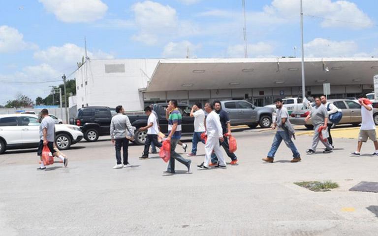 Inicia masiva deportación